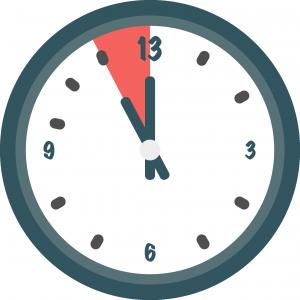 Pictogramme : Horloge Temps