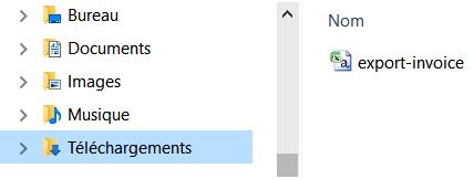 Export - C:téléchargement