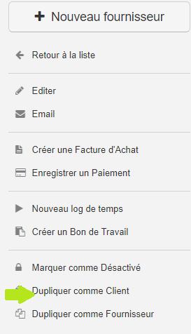 Smoall - Client et Funnel - dupliquer comme client depuis fournisseur