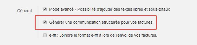 Smoall - Paramètres-Activation-communication-structurée