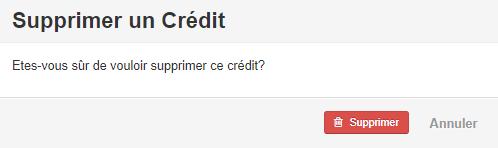 Smoall - Confirmation suppression lien note de crédit et facture