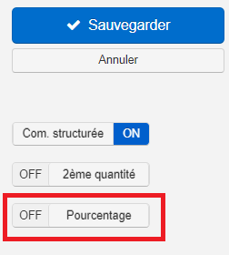Smoall-Facture de vente-Pourcentage