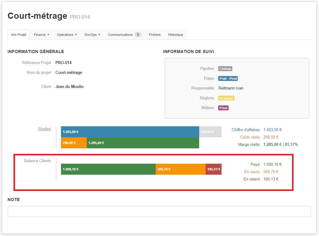 Smoall-Balance client fiche projet