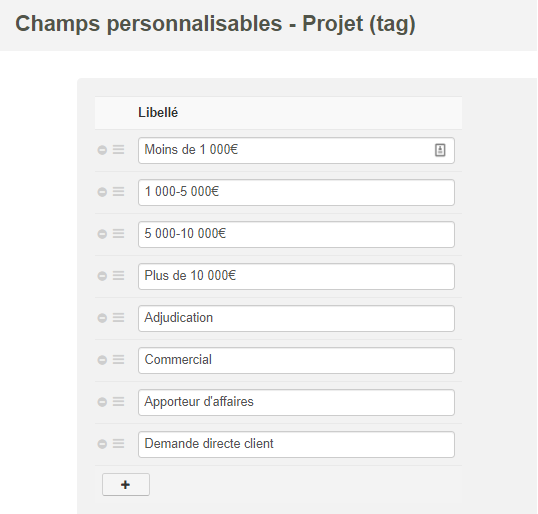 Smoall-Exemple de tags projet