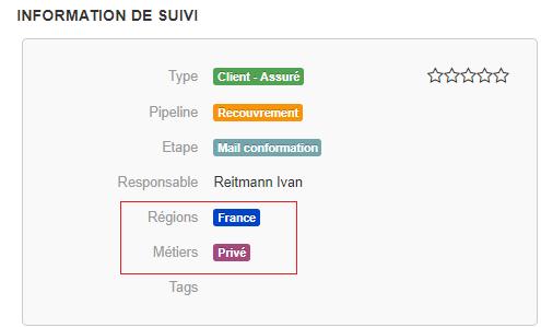 Smoall- Exemple fiche client critères analytiques