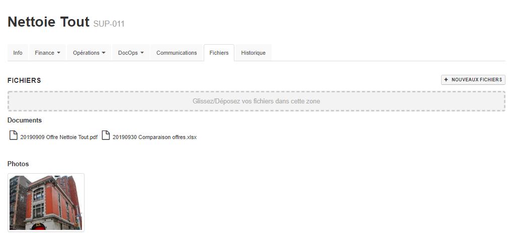 Smoall-Fichiers et photos fiche fournisseur résultat