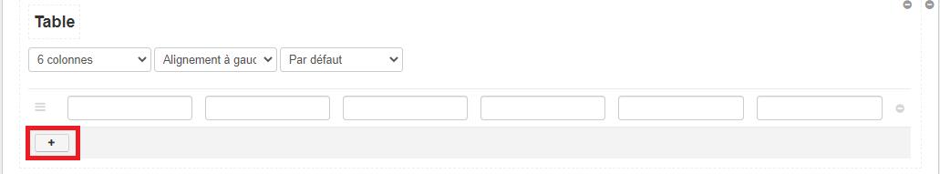 Smoall- DocOps-Ajouter ligne table