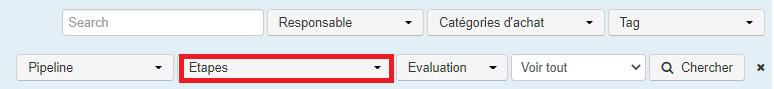 Smoall-Fournisseurs-critères de recherche par étapes